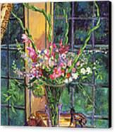 Gladiola Arrangement Canvas Print