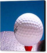 Golf Canvas Print by David and Carol Kelly
