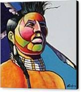Indian Portrait Canvas Print
