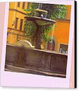 Italy San Spirito Canvas Print by Lyn Vic