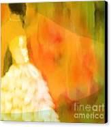 Last Dance Canvas Print by Hilda Lechuga