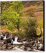Nant Gwynant Waterfalls Vii Canvas Print by Maciej Markiewicz