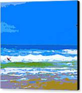 Para-surfer 2p Canvas Print by CHAZ Daugherty