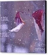 Purple Winter Canvas Print by Irina Wardas