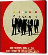 Reservoir Dogs Poster Canvas Print by Naxart Studio