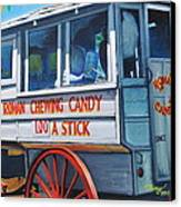Roman Candy Guy At Jazz Fest Canvas Print