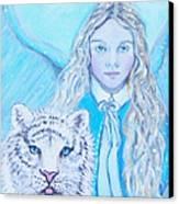 Tatiana Canvas Print by The Art With A Heart By Charlotte Phillips
