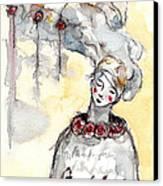 ' The Listeners - No 1 '  Canvas Print by Milliande Demetriou