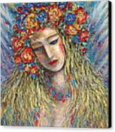 The Loving Angel Canvas Print