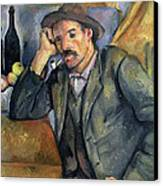 The Smoker Canvas Print by Paul Cezanne