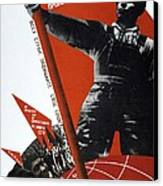 The Ussr Is The Elite Brigade Of The World Proletariat 1931 Canvas Print