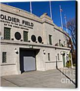 0417 Soldier Field Chicago Canvas Print by Steve Sturgill