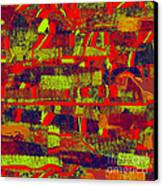 0480 Abstract Thought Canvas Print by Chowdary V Arikatla