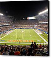 0586 Soldier Field Chicago Canvas Print by Steve Sturgill