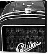 1907 Cadillac Model M Touring Grille Emblem Canvas Print