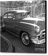 1949 Chevy Canvas Print by Andres LaBrada