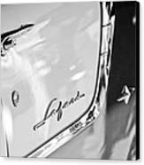 1955 Pontiac Safari Station Wagon Emblem Canvas Print