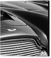 1960 Aston Martin Db4 Series II Grille - Hood Emblem Canvas Print by Jill Reger