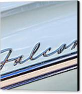 1963 Ford Falcon Futura Convertible  Emblem Canvas Print by Jill Reger