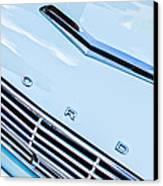 1963 Ford Falcon Futura Convertible Hood Emblem Canvas Print
