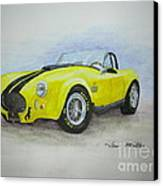 1965 Shelby Cobra Canvas Print by Terri Maddin-Miller
