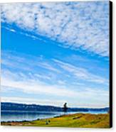 #2 At Chambers Bay Golf Course - Location Of The 2015 U.s. Open Tournament Canvas Print