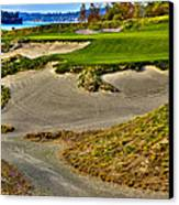 #3 At Chambers Bay Golf Course - Location Of The 2015 U.s. Open Championship Canvas Print by David Patterson