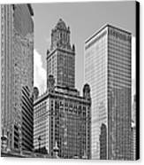 35 East Wacker Chicago - Jewelers Building Canvas Print by Christine Till