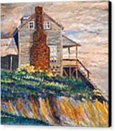 Abandoned Beach House Canvas Print