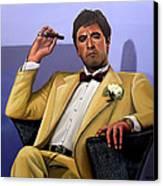 Al Pacino Canvas Print by Paul Meijering