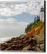 Bass Harbor Head Lighthouse Canvas Print by Mike McGlothlen