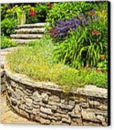 Beautiful Garden Canvas Print by Boon Mee