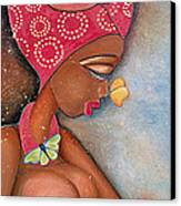 Beauty Canvas Print by Chibuzor Ejims