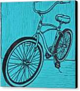 Bike 6 Canvas Print by William Cauthern