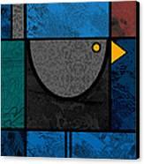 Blackbird Canvas Print by Kenneth North