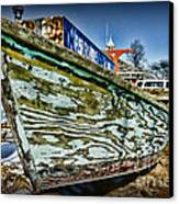 Boat Forever Dry Docked Canvas Print