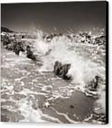 Bolonia Waves Canvas Print