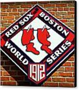 Boston Red Sox 1912 World Champions Canvas Print