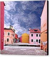 Burano 01 Canvas Print by Giorgio Darrigo