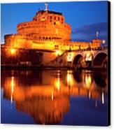 Castel Sant Angelo Canvas Print by Brian Jannsen
