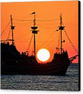 Catching The Sun Canvas Print by David Lee Thompson