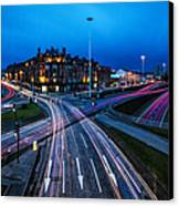 Charing Cross Glasgow Canvas Print by John Farnan