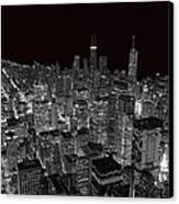 Chicago Canvas Print by Jeff Lewis