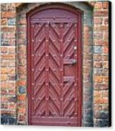 Church Door 02 Canvas Print by Antony McAulay