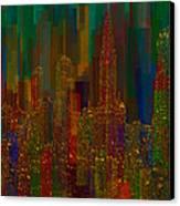 Cityscape 5 Canvas Print by Jack Zulli