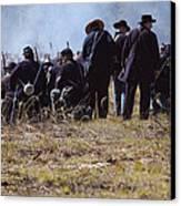 Civil War Canvas Print by Kitty Ellis