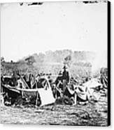Civil War: Wounded, 1862 Canvas Print