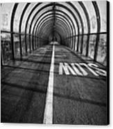 Clydeside Walkway Canvas Print by John Farnan