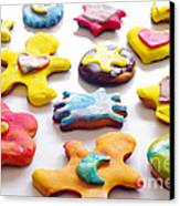 Colorful Cookies Canvas Print by Carlos Caetano