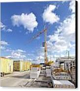 Construction Site Canvas Print by Hans Engbers